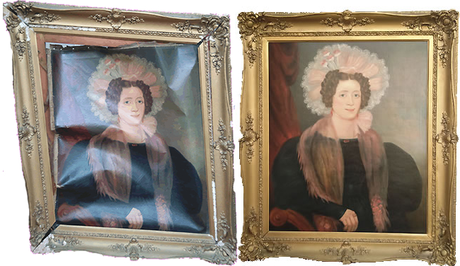 Antiquepicture frame restoration services