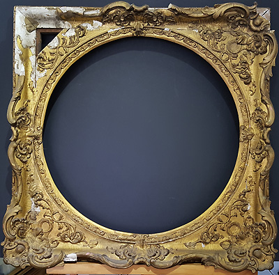 Antique Frame restoration service in Devon